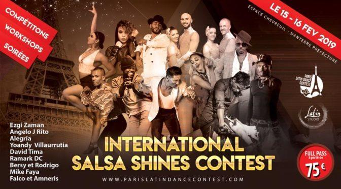 Internation Salsa Shines Contest