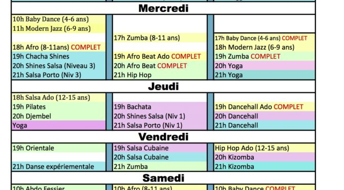 Planning Tableau Feuil1