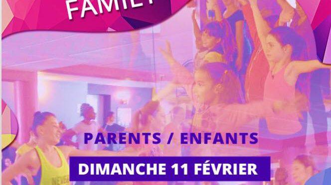 ZUMBA FAMILY (parents/enfants) avec Aurélie et Ophelie