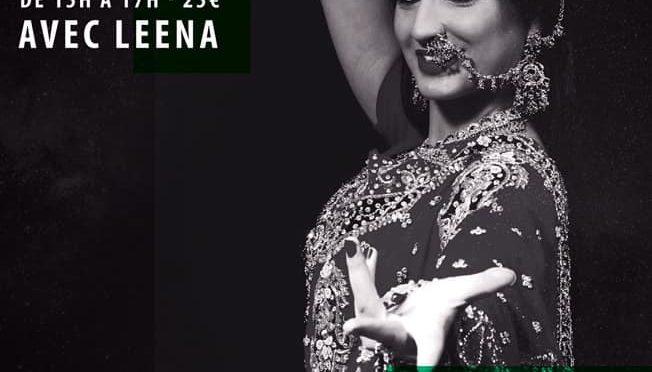 Stage Bollywood avec Leena